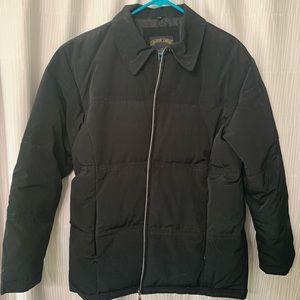 Shaver Lake black down jacket